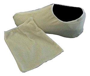 Sapatilha De Malha Simples Descartável Propé Medk - 50 Un