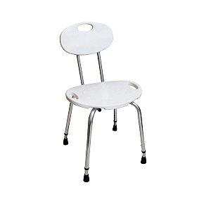 Cadeira Para Banho Com Encosto Banqueta Mebuki Dellamed D2