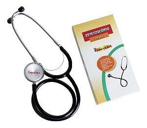 Estetoscopio Pediatrico Duplo Preto Premium Accumed