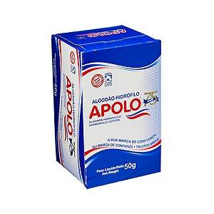 Algodão Hidrófilo Higiene Apolo Rolo Caixa 50g - unidade