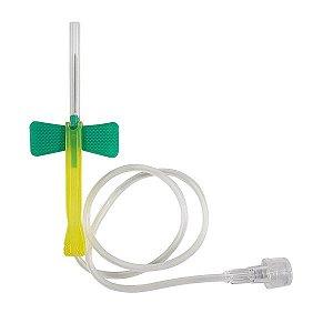 Escalpe De Segurança Estéril Scalp 21g Descarpack - 100 Und