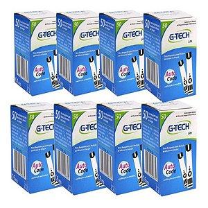 400 Tiras Reagentes G-tech Lite Teste De Glicemia