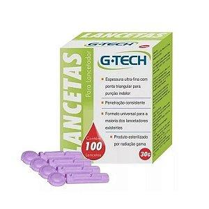Kit 300 Lancetas Glicose G-tech Universal 30g