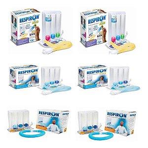 Kit Respiron Família 4 - 02 Kids, 02 Classic E 02 Easy
