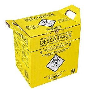 Caixa Coletadora Nr 7 Litros Perfurante Cortante Descarpack