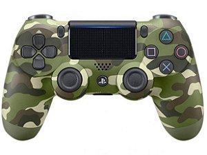 Controle para PS4 sem Fio Dualshock 4 Sony - Verde Camuflado