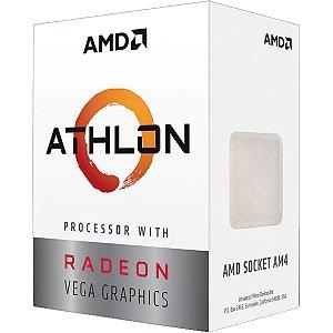 Processador AMD Athlon 3000G 35Ghz Cache 4MB AM4 - YD3000C6FBBOX