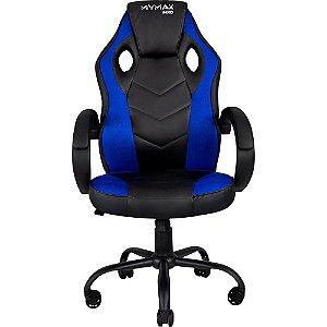Cadeira Gamer MX0 Giratoria Preto/Azul(MGCH-MX0/BL)