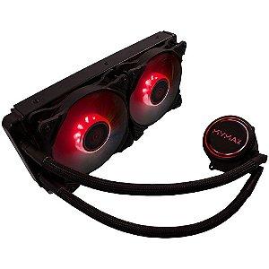 Watercooler New Algor 240mm AMD e Intel LED Vermelho(MYC/FC-V3-240-RD)