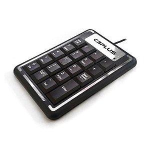 Teclado C3 Tech ABNT2 Numerico (KN-11BK)