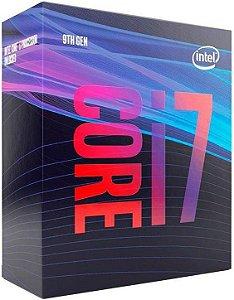 Processador Intel Core i7 9700 3.0Ghz Cache 12Mb LGA 1151 9ª Ger. - BX80684i79700