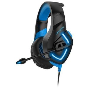 Headset Gamer Draxen DN100 Preto e Azul(DN100/BK-BL)