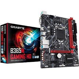 Placa Mae Gigabyte B365M Gaming HD Micro Atx Ddr4 LGA 1151