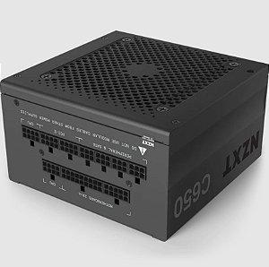 Fonte Atx Nzxt 650w C650 80 Plus Gold PFC Ativo Full Modular - NP-C650M-US