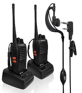 RADIO COMUNICADOR BF777 5KM COM 2 RADIOS BAOFENG
