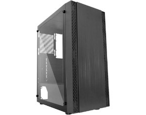 Gabinete Gamer K-Mex Pantera 3 lateral transparente - B1Z5