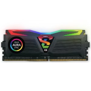 MEMÓRIA GEIL SUPERLUCE 8G DDR4 3000MHz Preta RGB PN # GALS48GB3000C16ASC
