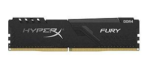 Memória Ram Kingston HyperX Fury 8gb Ddr4 2666Mhz Cl16 - HX426C16FB3/8