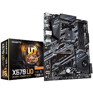 Placa Mae Gigabyte X570 UD (AM4/HDMI/DDR4/ATX) PN # X570 UD