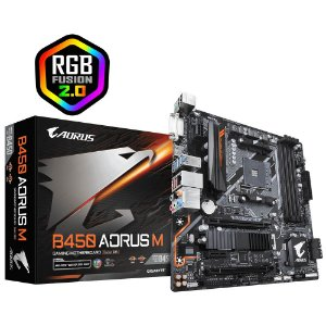 PLACA MAE AMD GIGABYTE B450 AORUS M DDR4 AM4