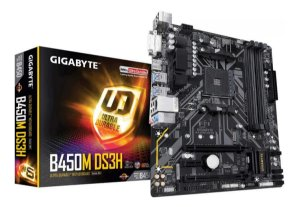PLACA MAE GIGABYTE B450M DS3H 1.0 AMD 9MB45MDSH-00-10