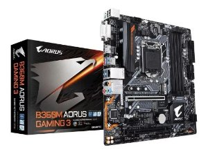 Placa Mae Gigabyte B360M Aorus Gaming 3 (1151/DDR4//HDMI/VGA/DVI/USB 3.0/M.2/Optane)