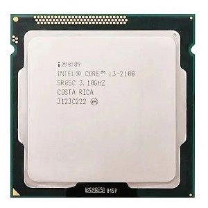 Processador Intel Core i3 2100 3.1GHz 3Mb LGA 1155 2ª Ger. -  OEM80623I32100