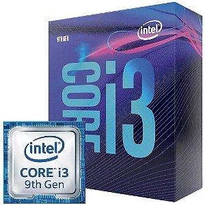 Processador Intel Core i3-9100F Box LGA1151 3.7Ghz 6MB Cache
