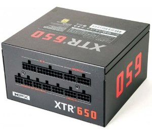 FONTE 650W XFX XTR2 80+GOLD FULL MODULAR (S/CABO ENERGIA) P1-0650-XTR2