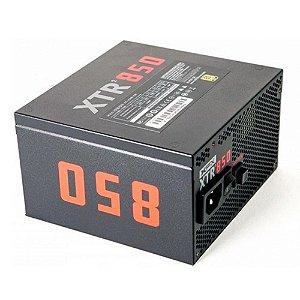 FONTE 850W XFX XTR2 80+GOLD FULL MODULAR (S/CABO ENERGIA) P1-0850-XTR2
