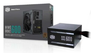 FONTE MWE 600W 80 PLUS BRONZE - MPX-6001-ACAAB-WO - COOLER MASTER