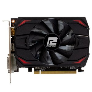 PLACA DE VIDEO AMD RX 550 4GB RED DRAGON POWER COLOR AXRX 550 4GBD5-DH