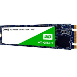 SSD M2 2280 WESTERN DIGITAL GREEN 240GB SATA 3 3D WDS240G2G0B