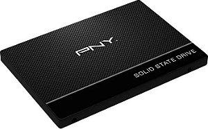 Ssd Pny Cs900 240GB Sata3 Leitura 535MBs  Gravação 500MBs