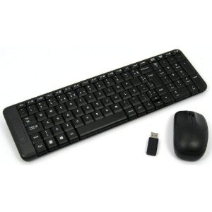 COMBO MOUSE E TECLADO WIRELESS LOGITECH MK220