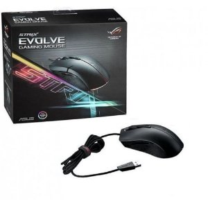Mouse Asus Gaming Aura USB RGB Wired Optical (ROG Strix Evolve-90MP00J0-B0UA00)