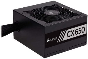Fonte Atx Corsair 650w Cx650 Series 80 Plus Bronze PFC Ativo - CP-9020122-BR