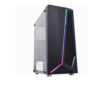 Gab Gamer Hawk 38TG Painel fita Led RGB Rainbow s Reset sFan