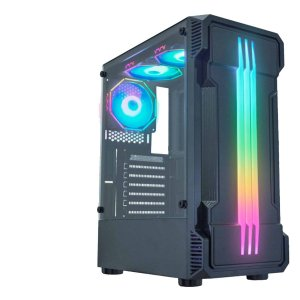 Gab Gamer Bifrost2 01KB Painel Led RGB Rainbow S/Fan psu cov
