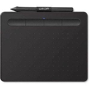 Mesa Digitalizadora Wacom Intuos CTL4100 (Resol 2540 lpi / Press da Caneta 4096 / LP-1100K / 3 Pontas de Reposicao) - Pe