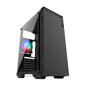 GABINETE GAMER BG-030 PRETO BLUECASE S/ FONTE / USB 3.0