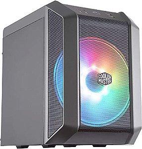 GABINETE MASTERCASE H100 MINI-ITX - FAN 200MM RGB - MCM-H100-KANN-S00 - COOLER MASTER