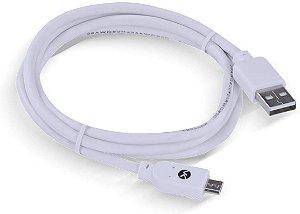 CABO USB X MICRO USB B 2.0 1M BRANCO MUSB-1