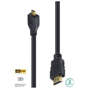 CABO HDMI 2.0 MICRO HDMI 4K 2M H20MC-2