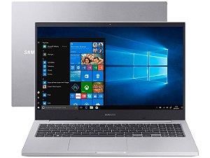 Notebook Samsung Book E30 Intel Core i3-10110U 10ª Ger. 4GB 1TB 15.6'' Windows 10 Home NP550XCJ-KT1BR - Prata