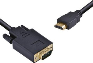 CABO HDMI X VGA 1080P 2 METROS HV-2