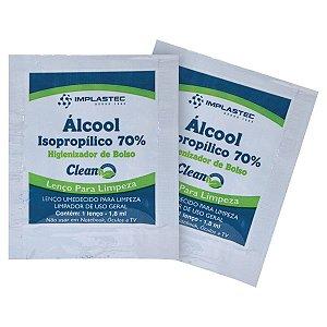 ALCOOL ISOPROPILICO 70% SACHE