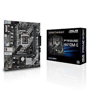Placa Mae Asus Prime H410M-E Micro Atx Ddr4 LGA 1200