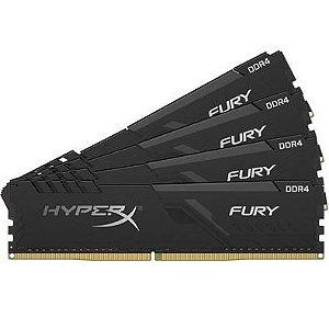 ***KIT 4x8gb DDR4 2400mhz HyperX Fury Black