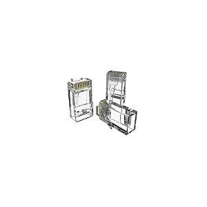 CONECTOR RJ45 MACHO DE PASSAGEM CAT.6 (PCT 10 PLUGS) 35050296